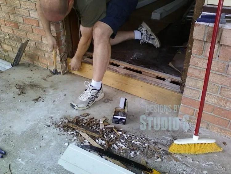 Replacing An Exterior Door