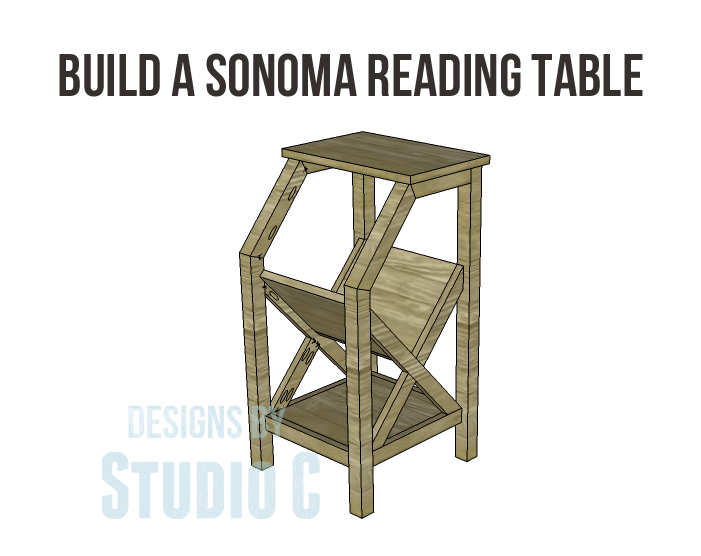 Build a sonoma reading table designs by studio c for Reading table design