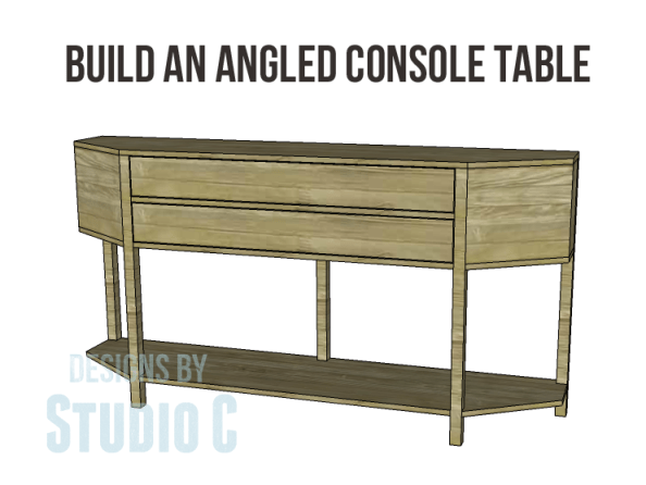 build angled console table_Copy