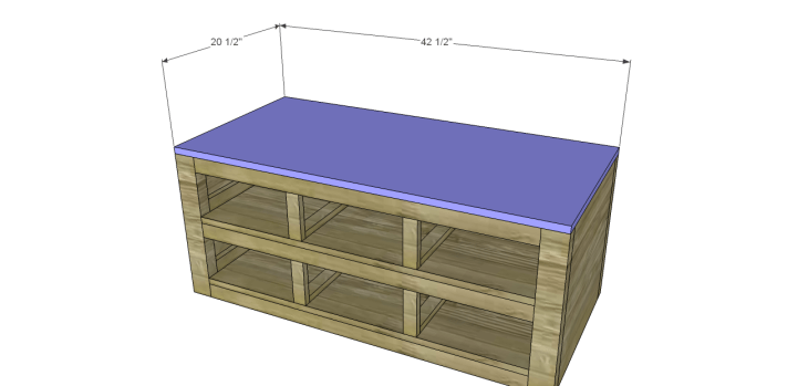 coffee table plans with drawers_Top