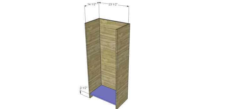 tall chest drawers plans_Bottom
