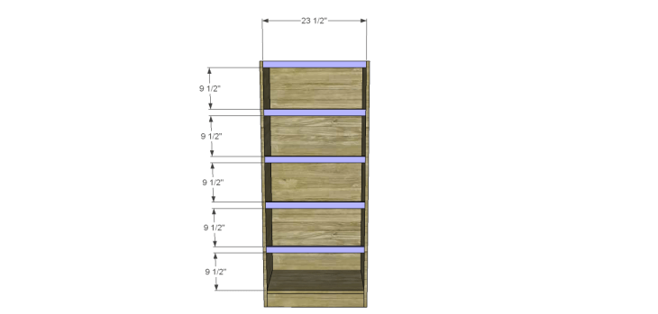 tall chest drawers plans_Stretchers