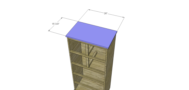 tall chest drawers plans_Top