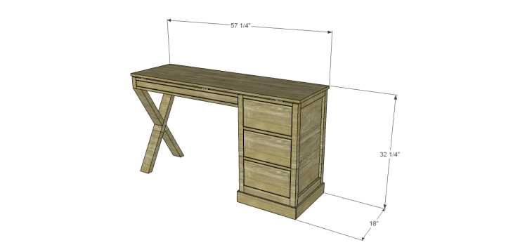 diy plans build desk