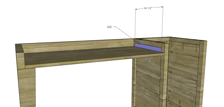 diy plans build desk_Pencil Drawer Spacer
