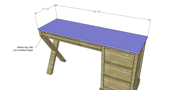 diy plans build desk_Top