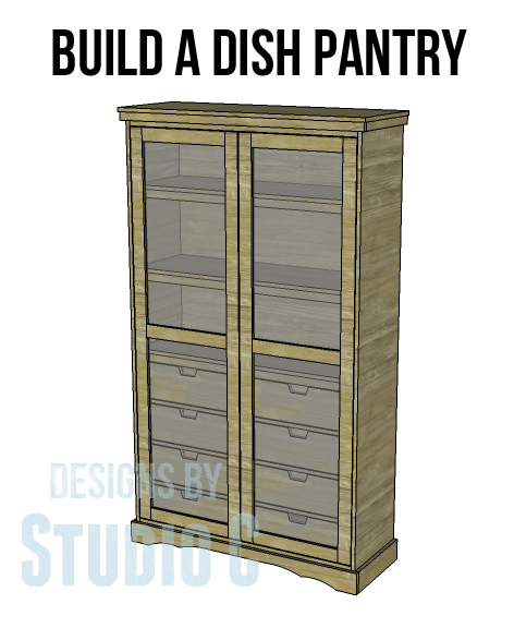 Build A Dish Pantry Designs By Studio C