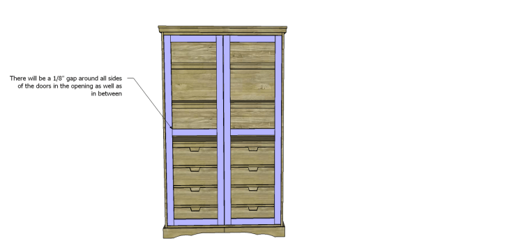 diy pantry armoire plans_Doors 2