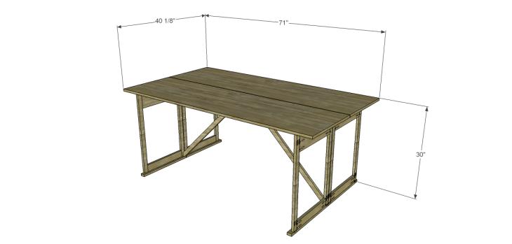 folding table plans_1