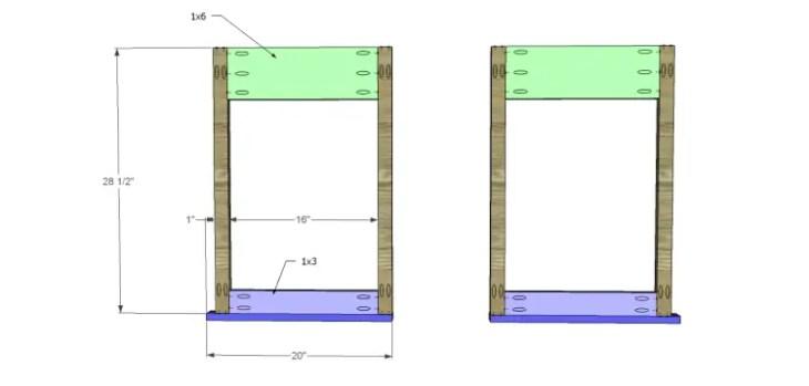folding table plans_Base