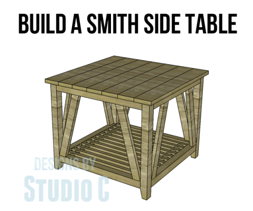 Simple Side Table Ideas: Build A Smith Side Table