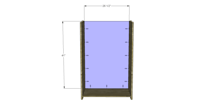 country storage cabinet plans_Back