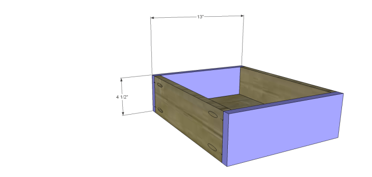 plans build large stately bookcase_DrawerFB