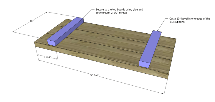 free furniture plans build rustic bench_Seat