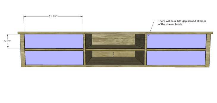 mason media console plans_Drawer Fronts