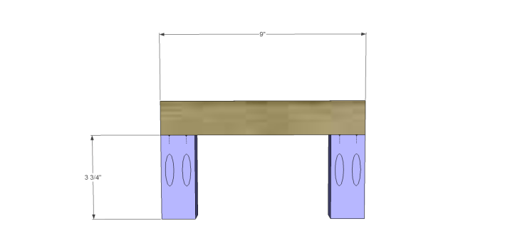free furniture plans build wood towel rack_Shelf Assembly