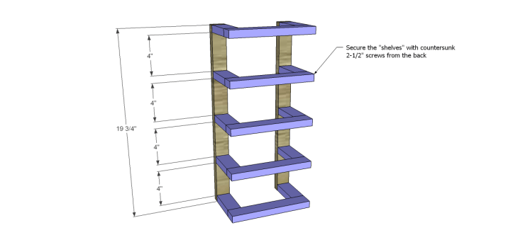 free furniture plans build wood towel rack_Shelves