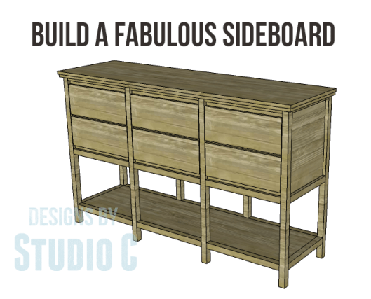 free furniture plans build sundown retreat sideboard_Copy