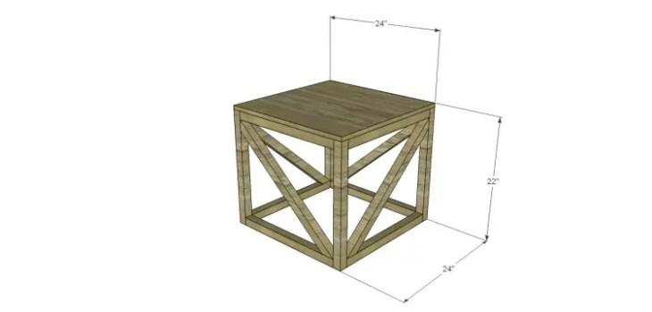 free furniture plans build barrington end table