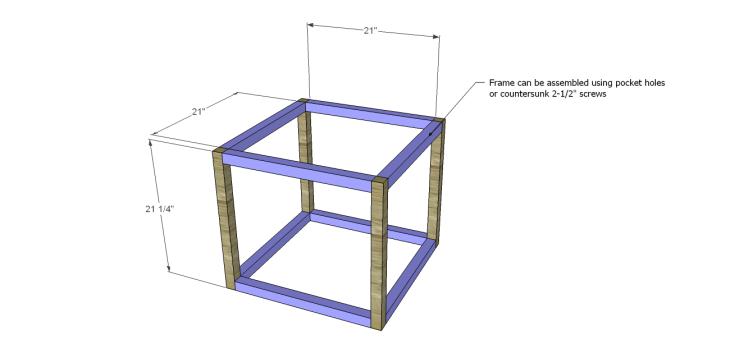 free furniture plans build barrington end table_Frame