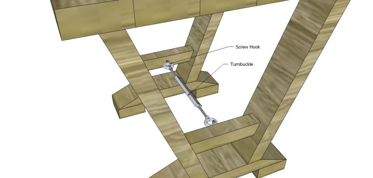 astor end table plans_Hook & Turnbuckle