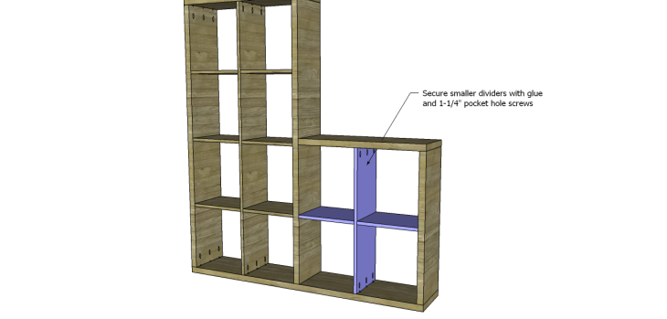cascade bookcase plans_Small Dividers 3
