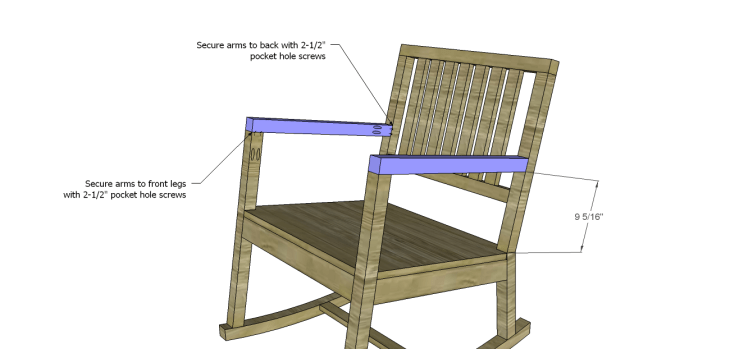 build rocking chair_Arms 2