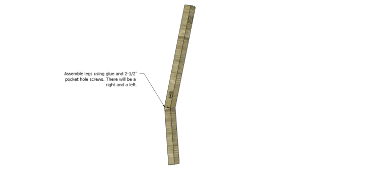 build rocking chair_Back Legs 2