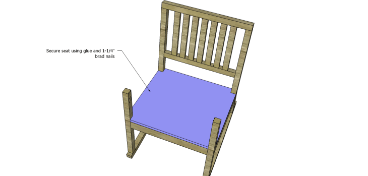 build rocking chair_Seat 2