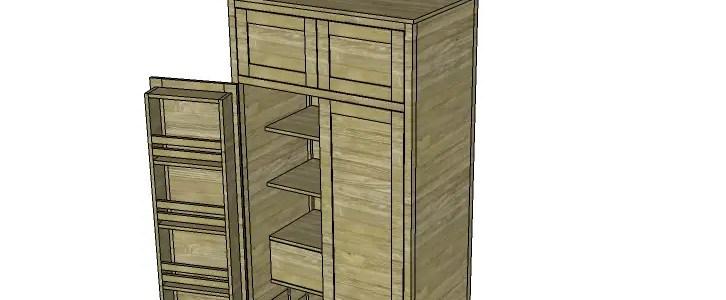 Build Alan S Larder Cabinet Designs By Studio C