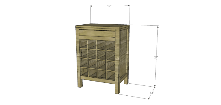rustic wine cabinet plans