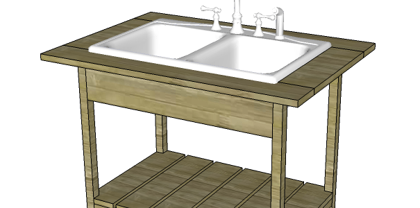 Build an Outdoor Sink (Part One) - Designs by Studio C on Outdoor Sink With Stand id=62138