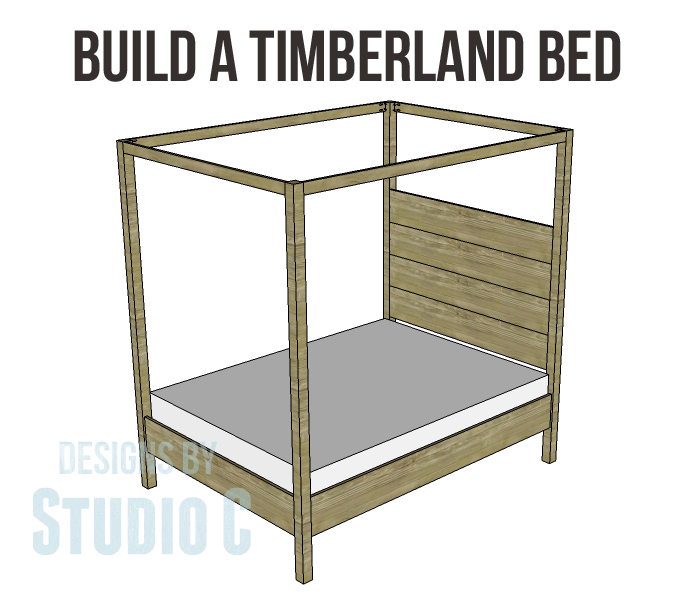 timberland queen bed plans-Copy