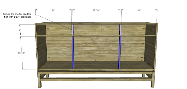 plans build esmerelda buffet-Dividers