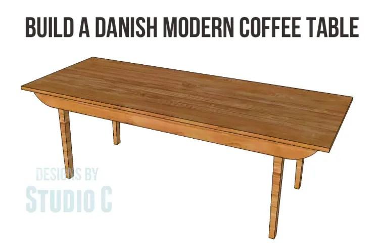 Build a Danish Modern Coffee Table – Designs by Studio C