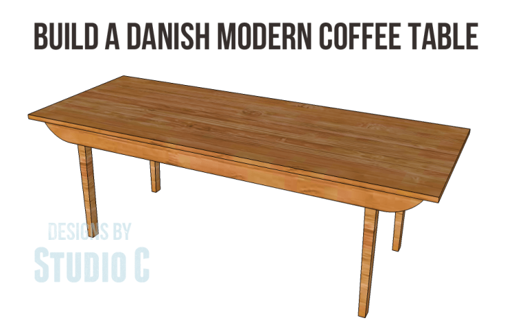 Danish Modern coffee table plans-Copy