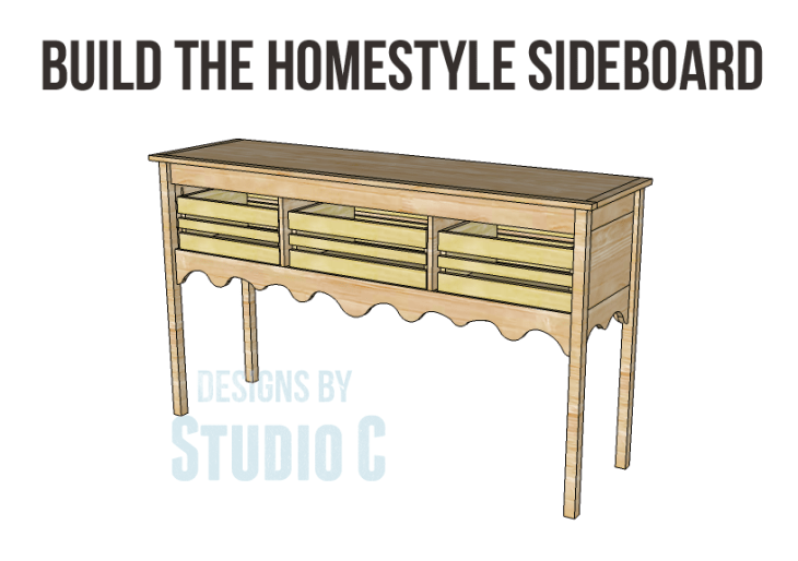 Homestyle sideboard plans-Copy