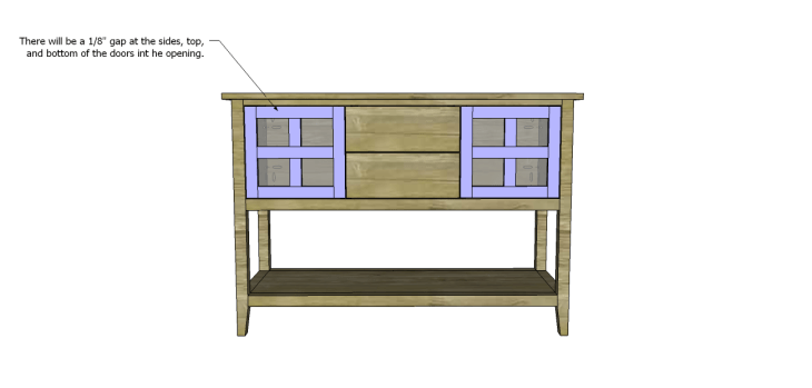 ronen sideboard plans-Doors 3