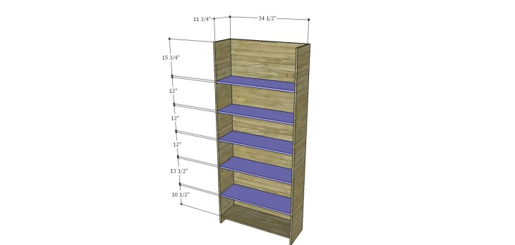 Harrison Cabinet Plans-Shelves