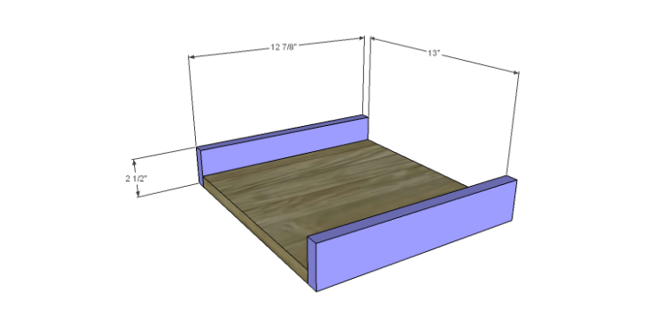 Hartford End Table Plans-Drawer FB