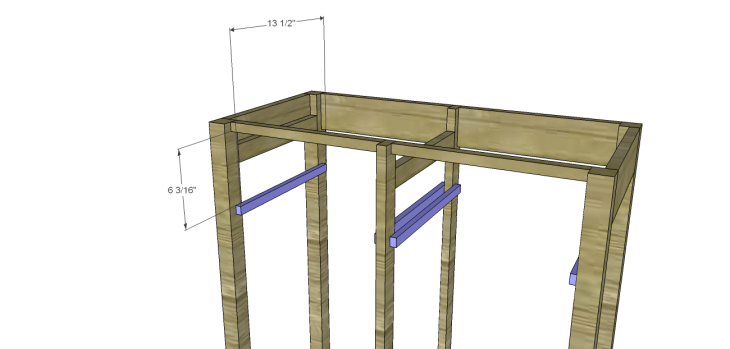 Plans to Build a Space Saving Table and Stools-Seat Slides