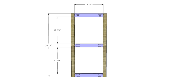 Plans to Build a Space Saving Table and Stools-Support Frame 1