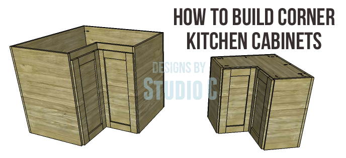 Corner Kitchen Cabinet Plans-Copy