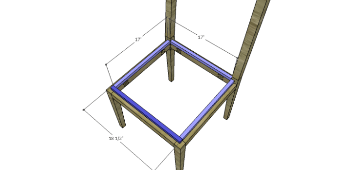 Luna Dining Chair Plans-Seat Spacers