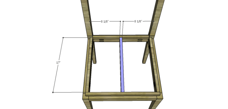 Luna Dining Chair Plans-Seat Support