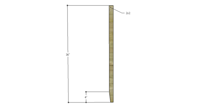 Plans to Build a Table using an Old Door-Legs