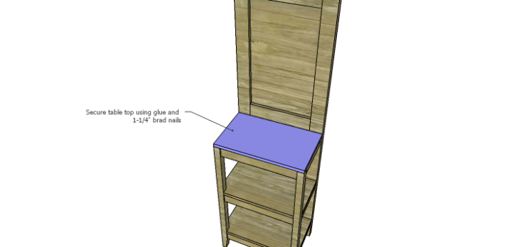 Plans to Build a Table using an Old Door-Top