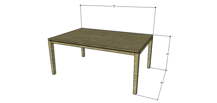 Plans to Build a Luna Dining Table