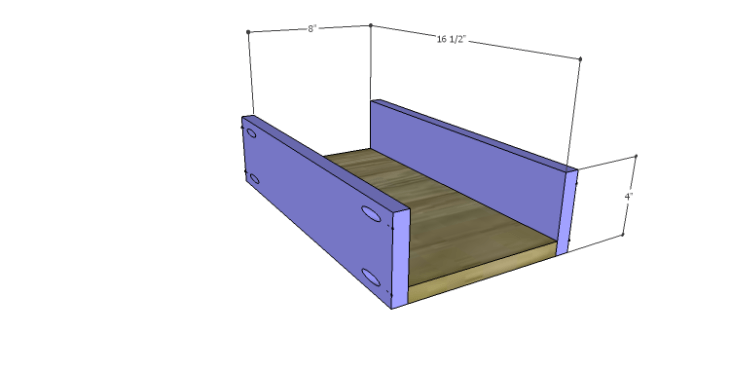 DIY Plans to Build a Kemper Media Console-Drawer BS