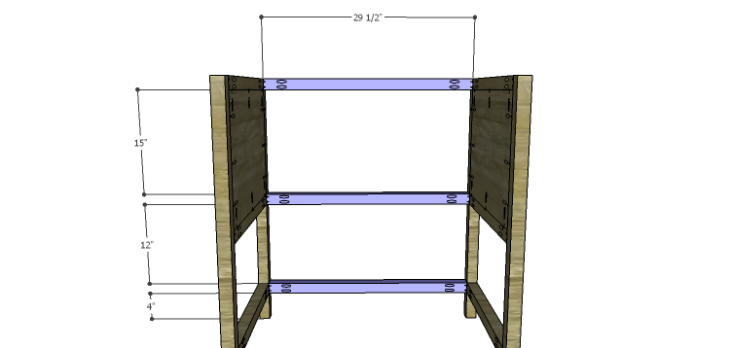 DIY Plans to Build a Printmaker's Vanity-Back Stretchers